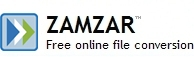 zamzar, конвертор файлов, бесплатно
